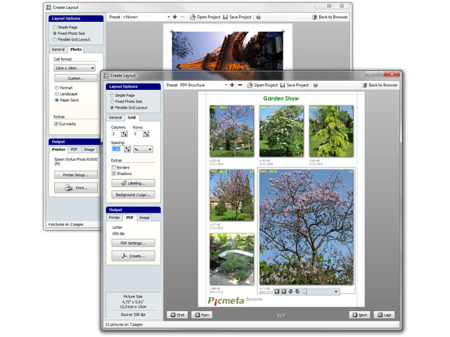 Click to view Printstation 3.77 screenshot
